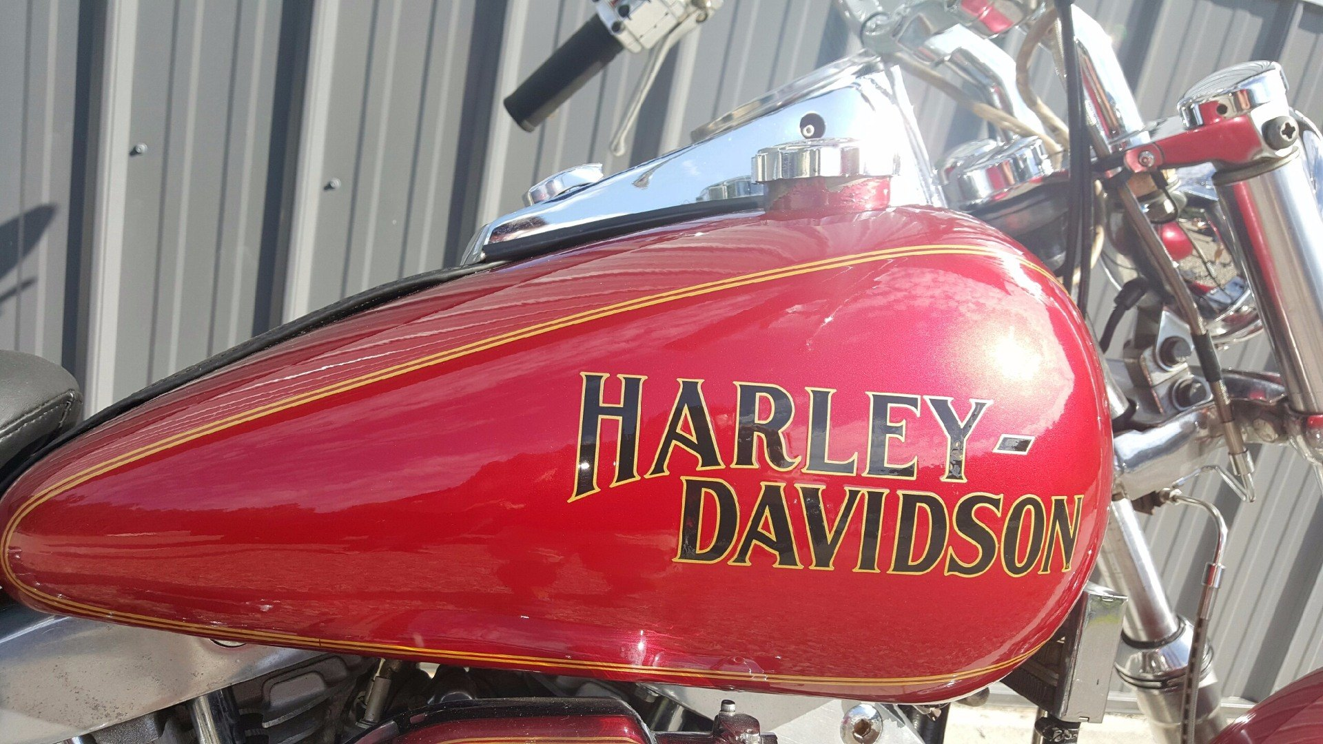 1981 Harley-Davidson WIDE GLIDE in Athens, Ohio