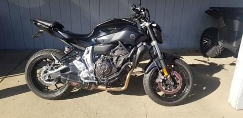 2016 Yamaha FZ-07 in Athens, Ohio