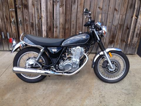 2015 Yamaha SR400 in Athens, Ohio