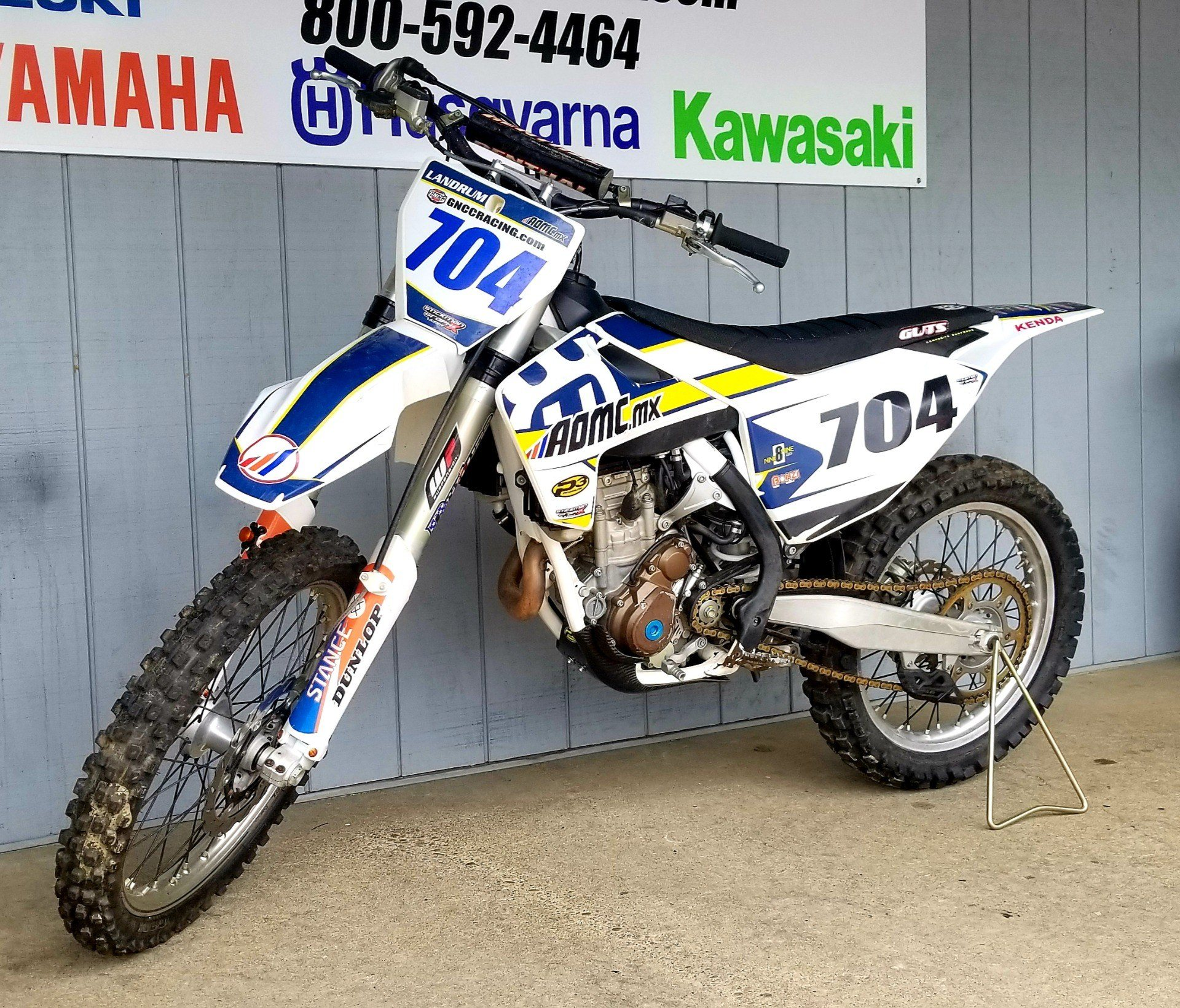 2018 Husqvarna FC 250 in Athens, Ohio