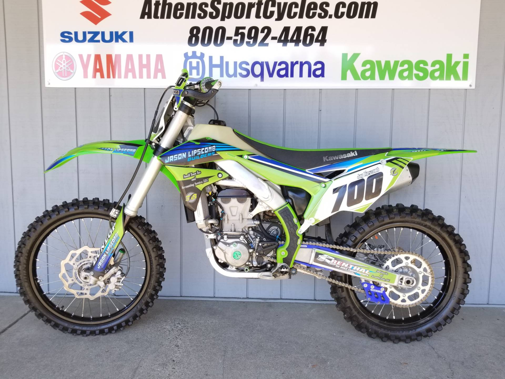 2017 Kawasaki KX450F in Athens, Ohio