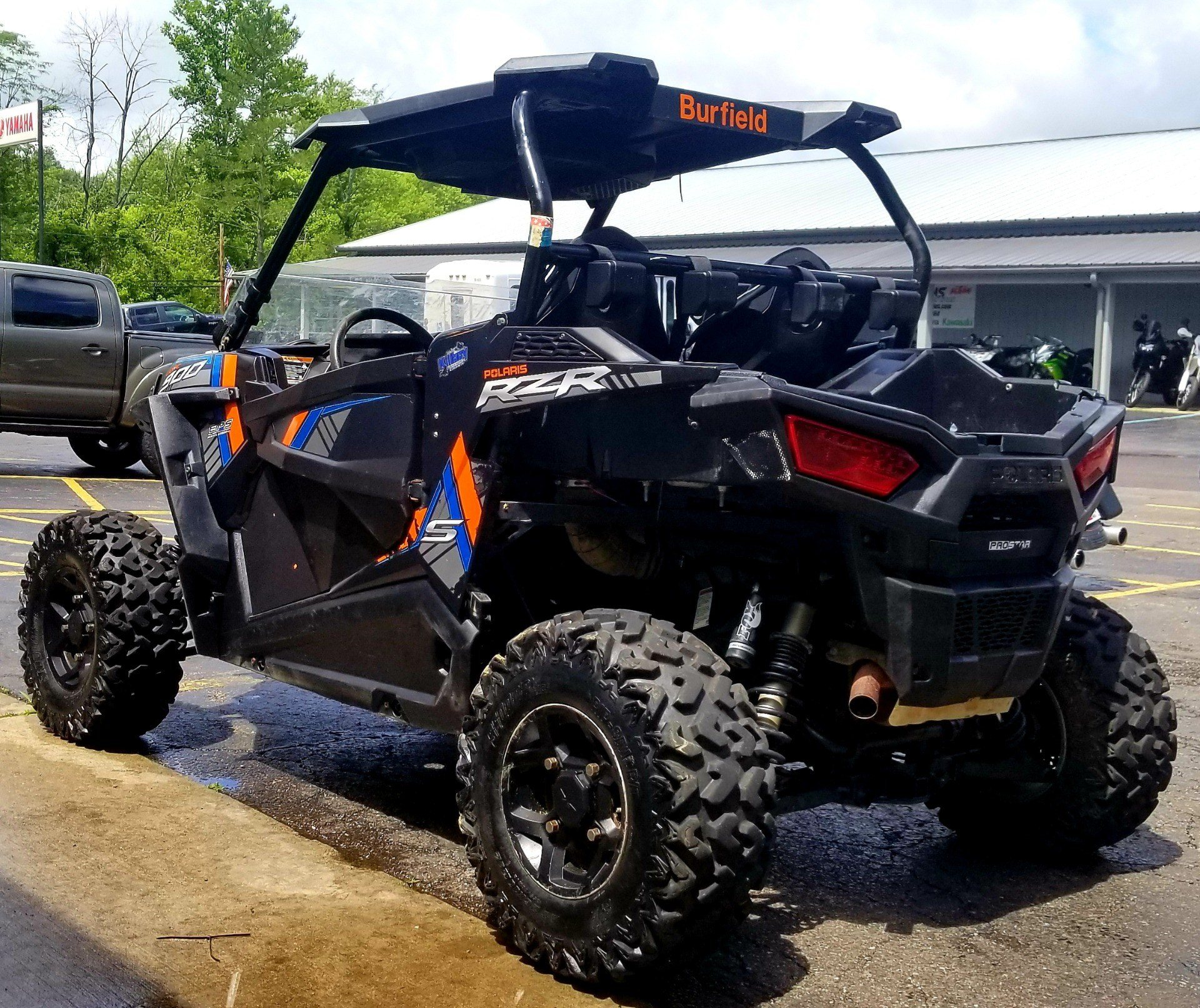 2015 Polaris RZR® S 900 EPS in Athens, Ohio - Photo 3
