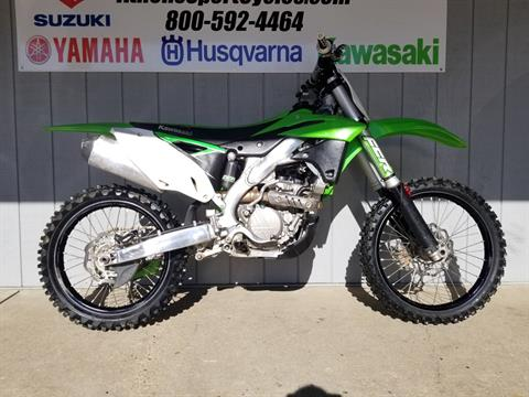 2016 Kawasaki KX250F in Athens, Ohio