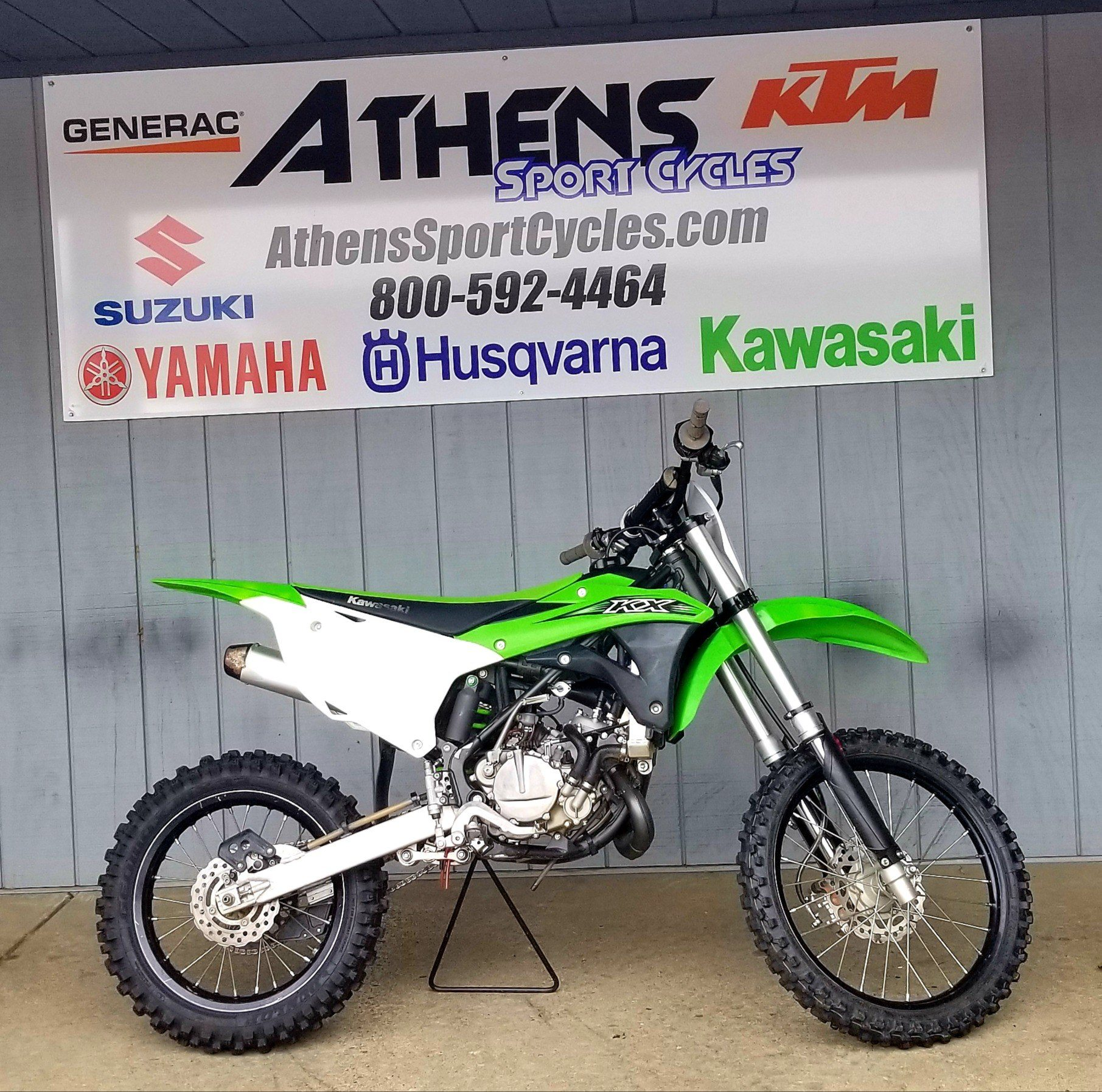 2016 Kawasaki KX100 in Athens, Ohio - Photo 1