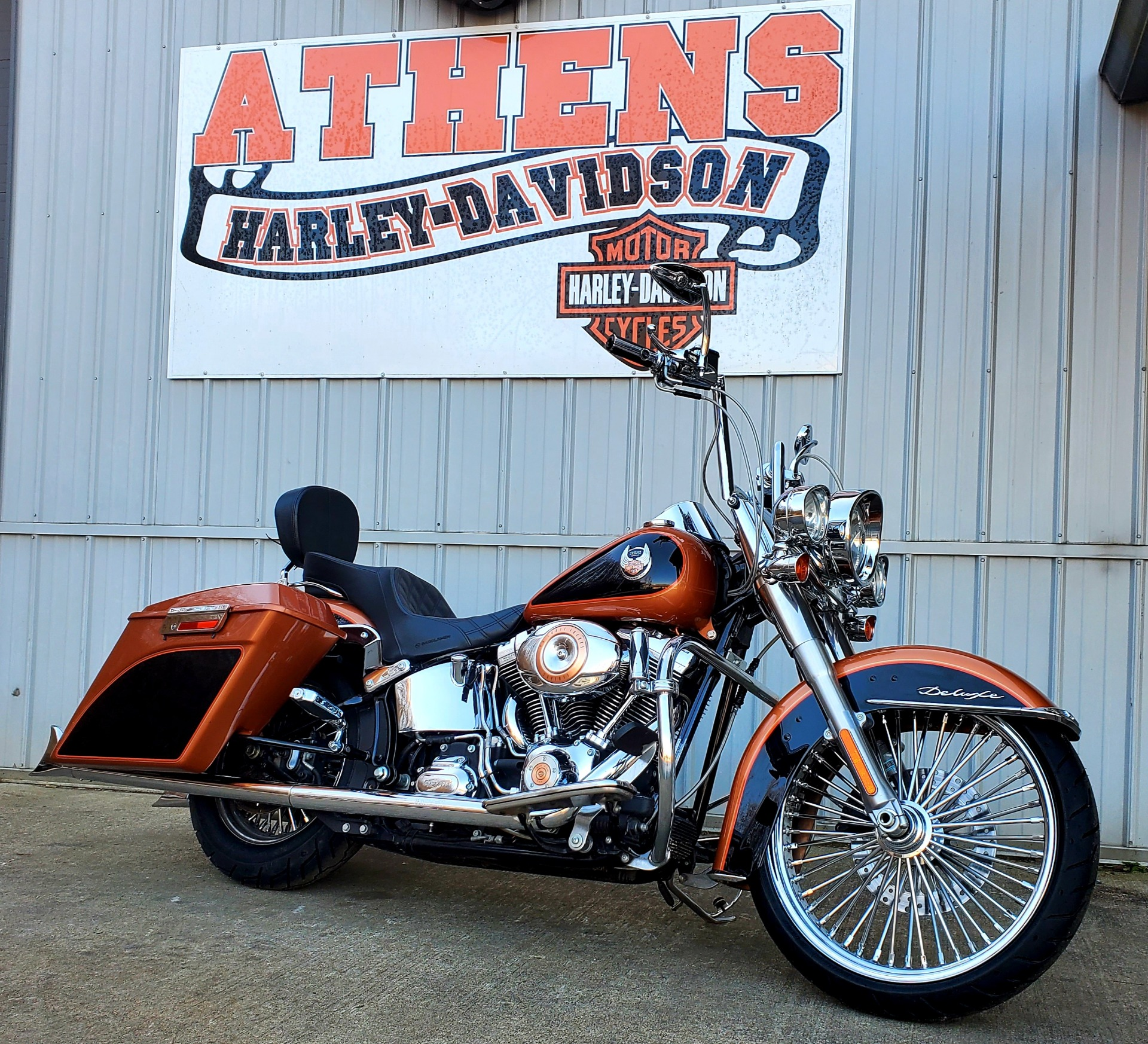 2008 Harley Davidson Softail Deluxe Motorcycles Athens Ohio N A