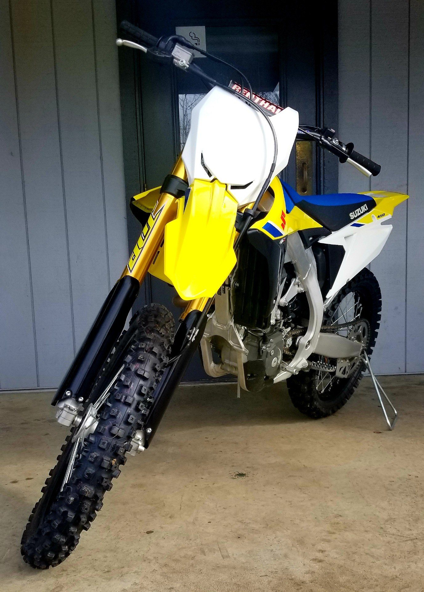 2018 Suzuki RM-Z450 in Athens, Ohio - Photo 3