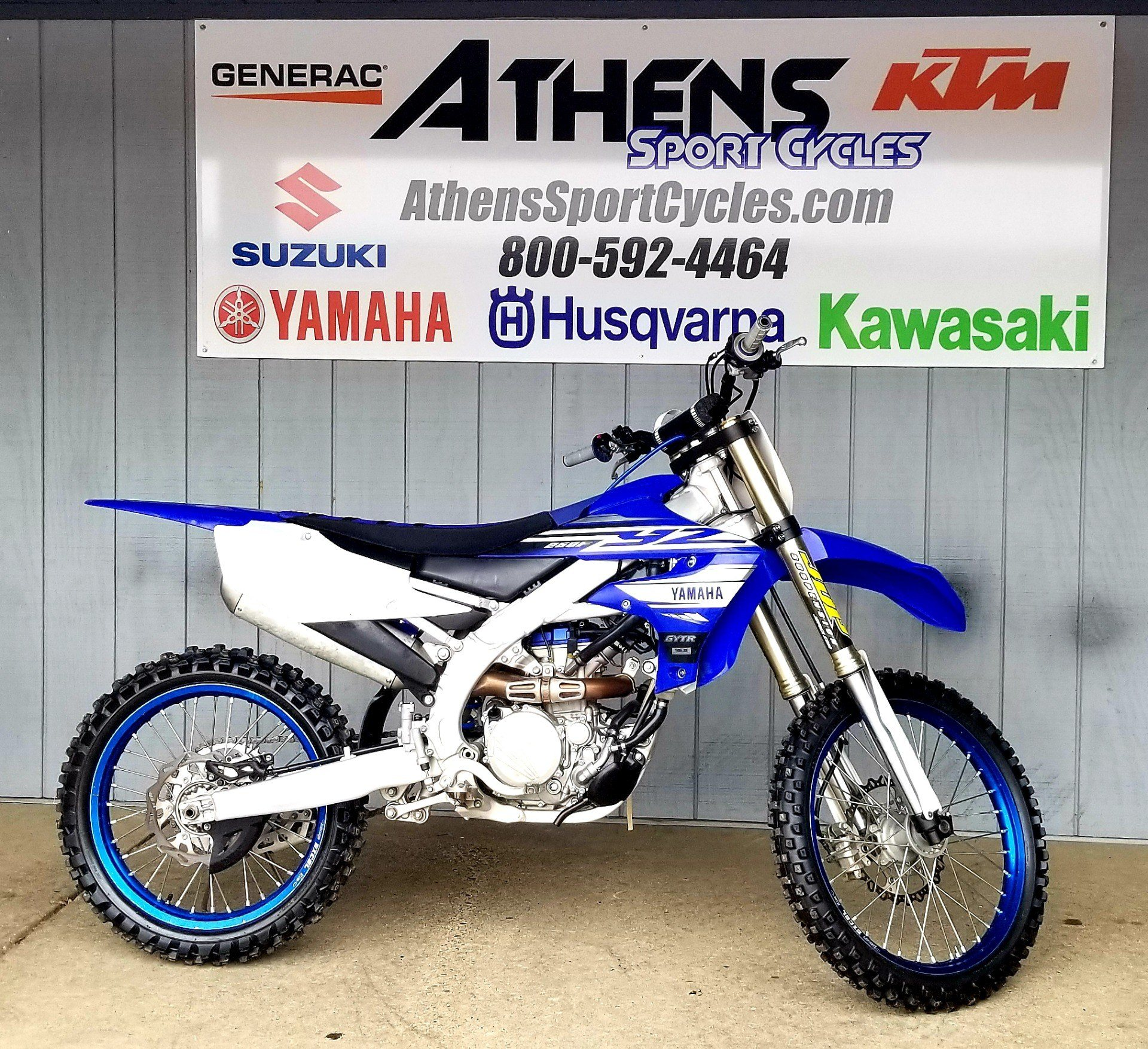 2019 Yamaha YZ250F in Athens, Ohio - Photo 1