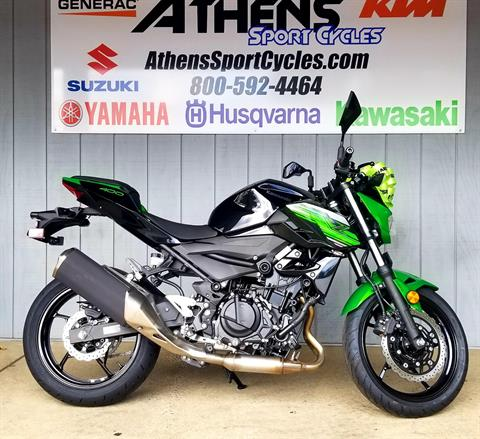 2019 Kawasaki Z400 ABS in Athens, Ohio