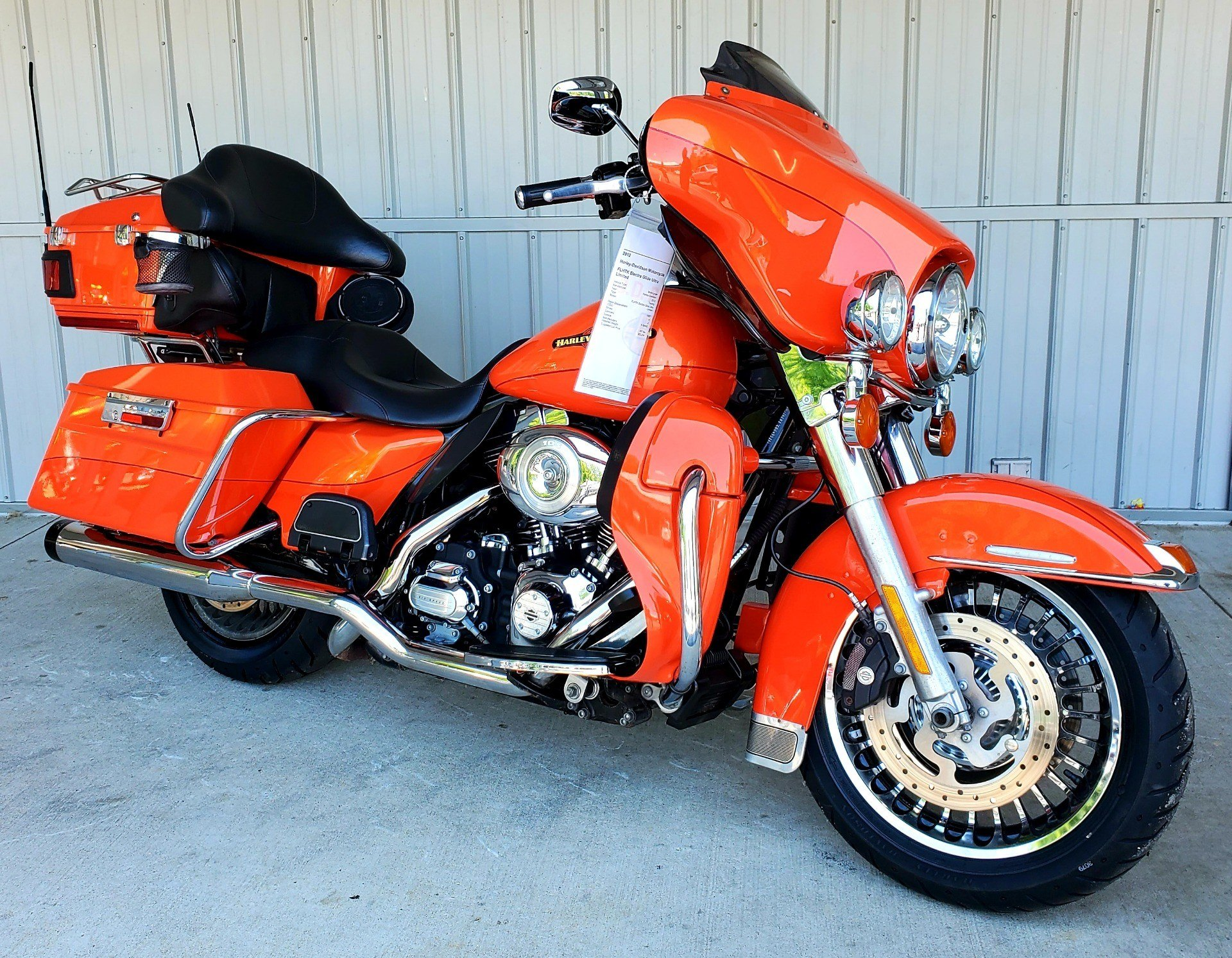 2012 Harley-Davidson Electra Glide® Ultra Limited in Athens, Ohio - Photo 1