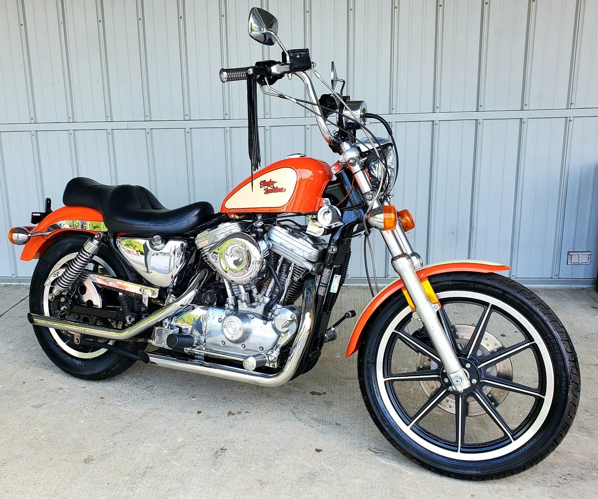 1990 Harley-Davidson 883 DELUXE in Athens, Ohio - Photo 1