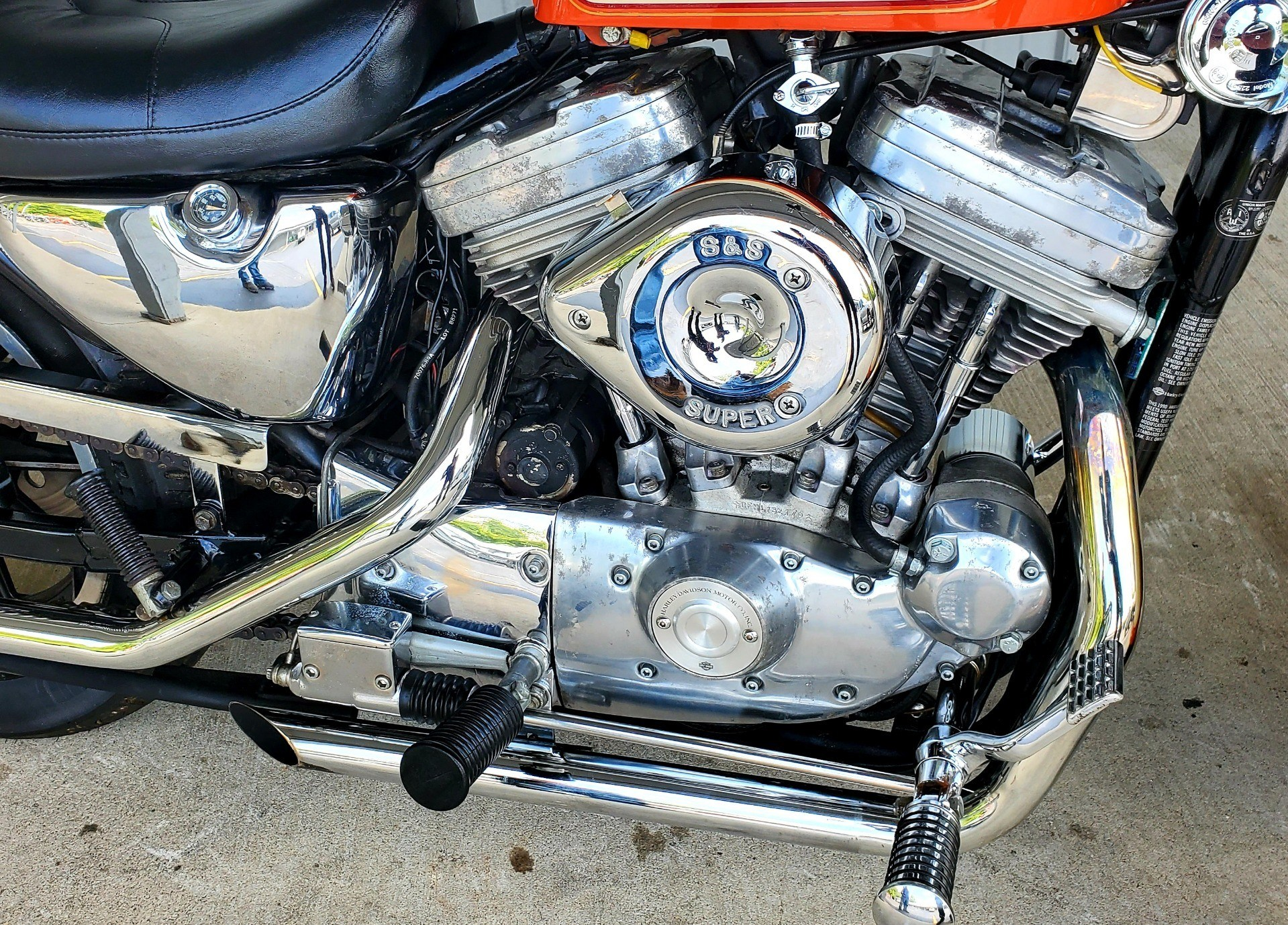 1990 Harley-Davidson 883 DELUXE in Athens, Ohio - Photo 6