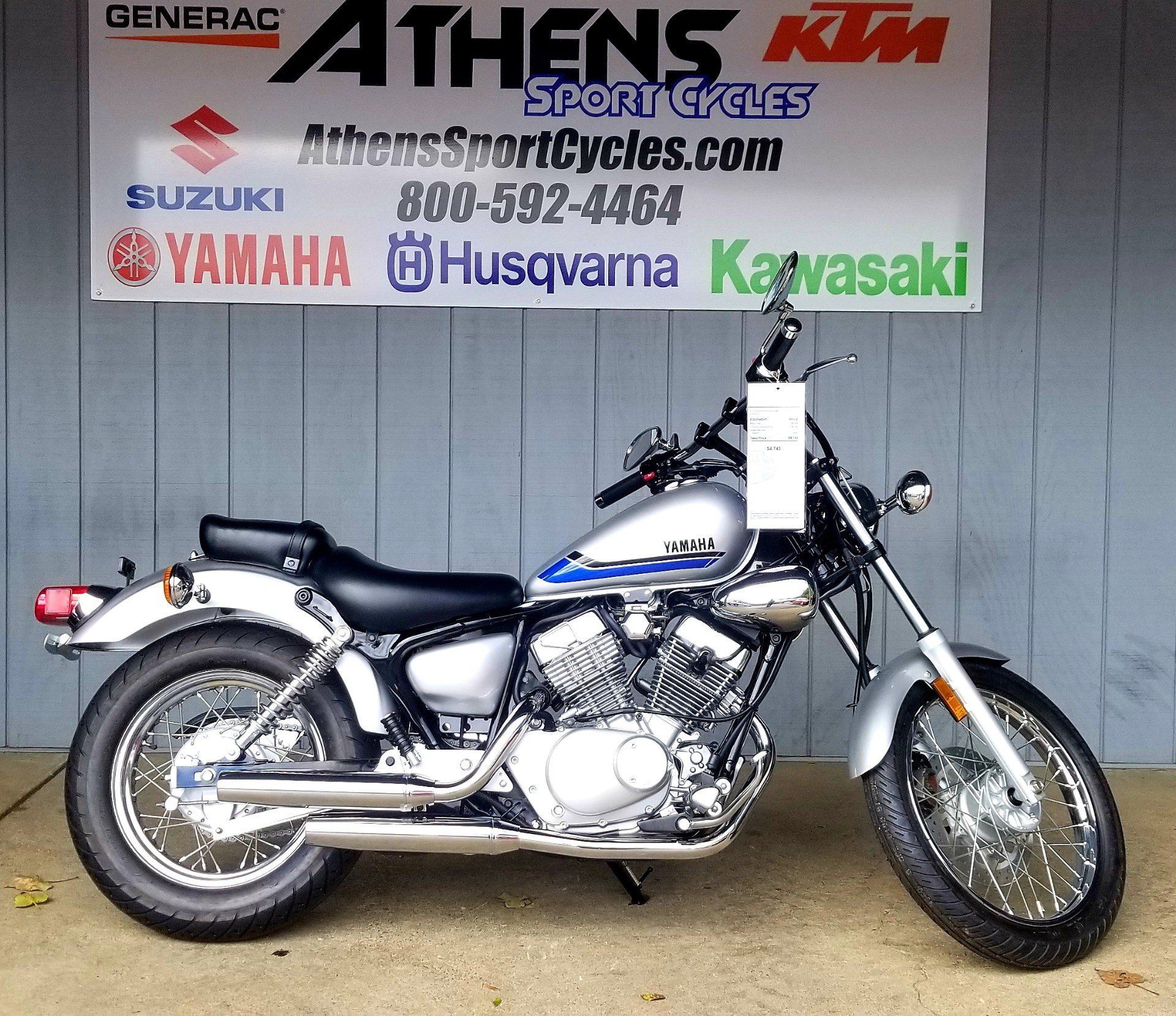 2019 Yamaha V Star 250 in Athens, Ohio - Photo 1