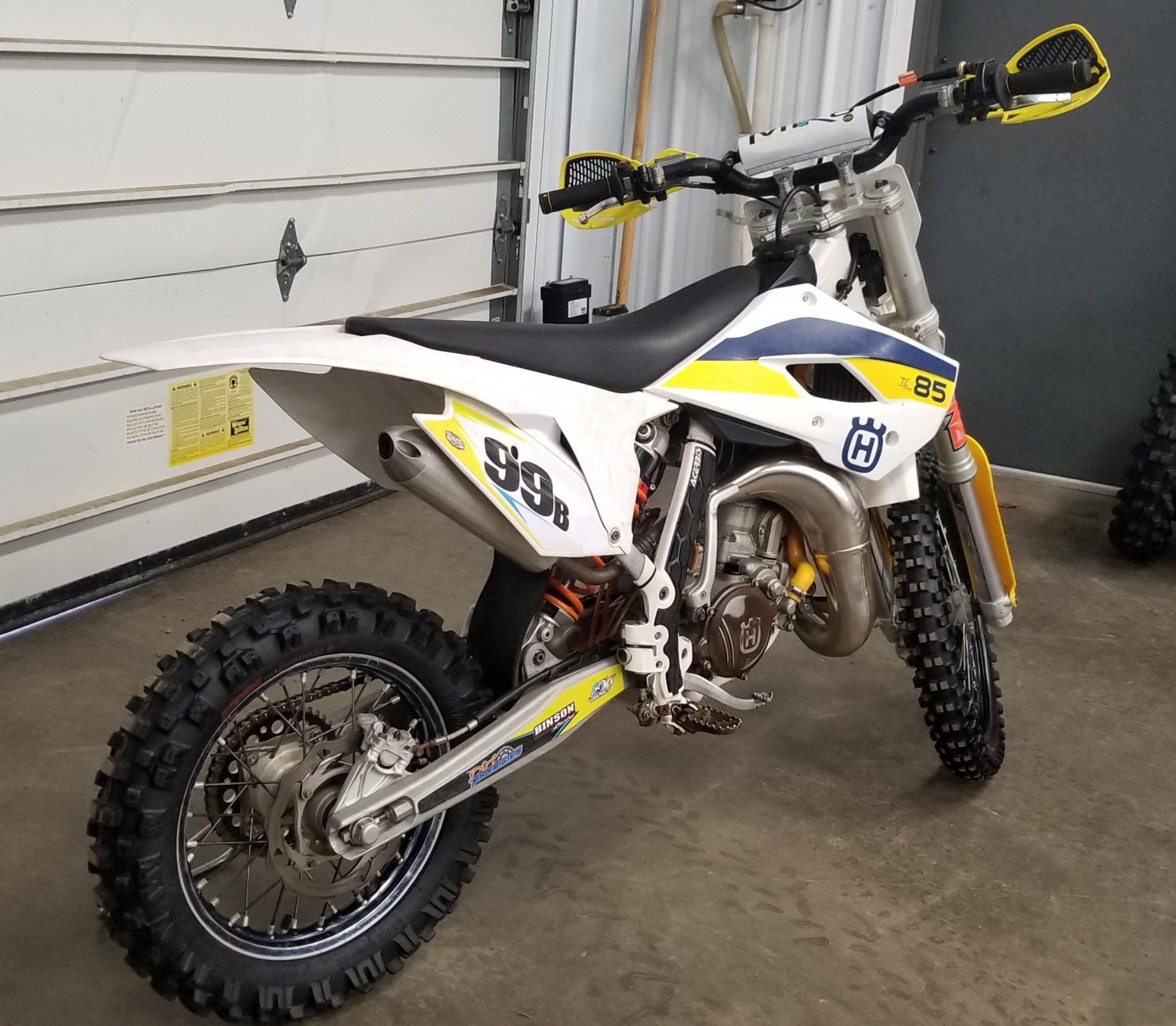 2015 Husqvarna TC 85 17/14 in Athens, Ohio