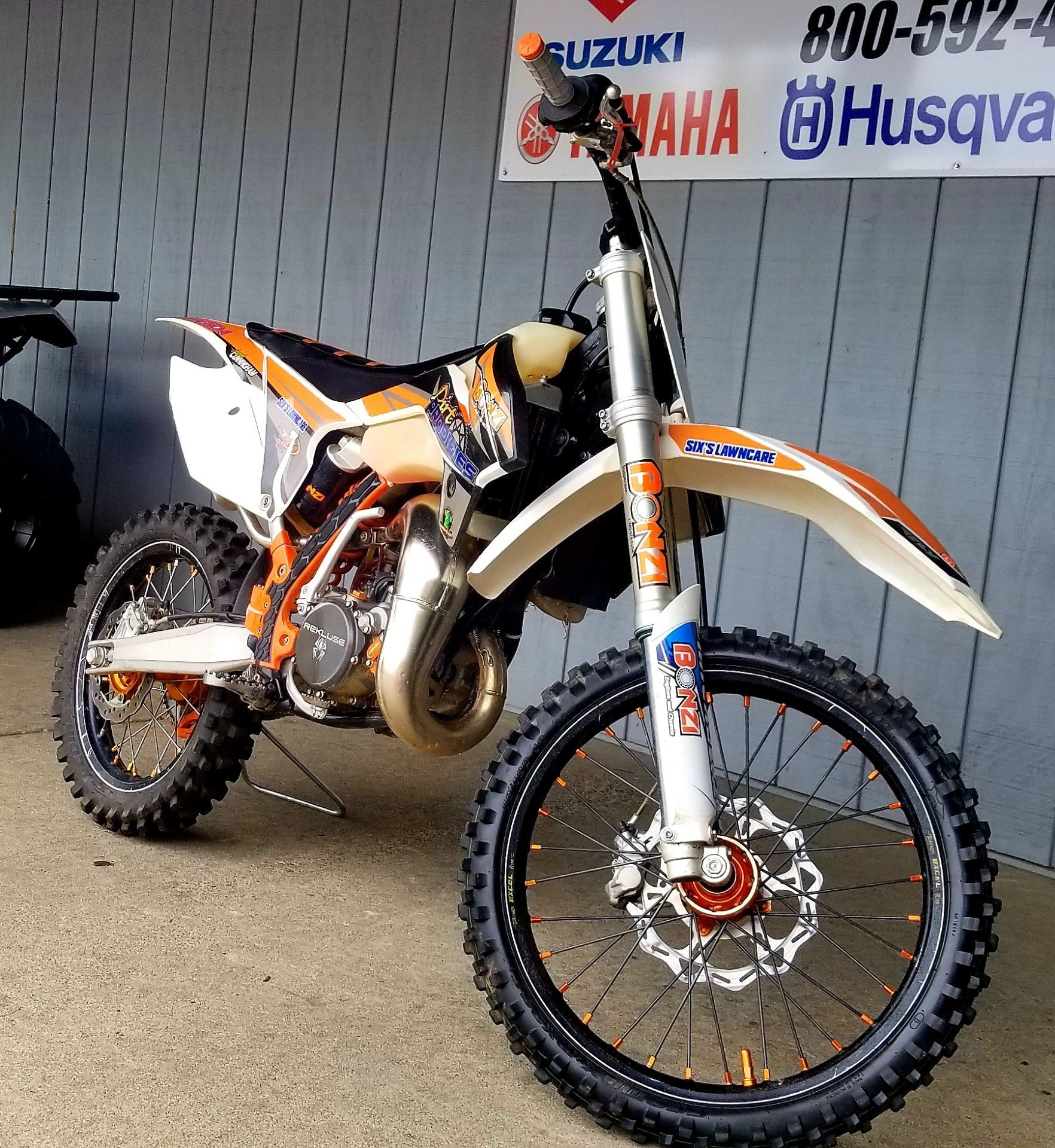 2017 KTM 85 SX 17/14 in Athens, Ohio - Photo 2