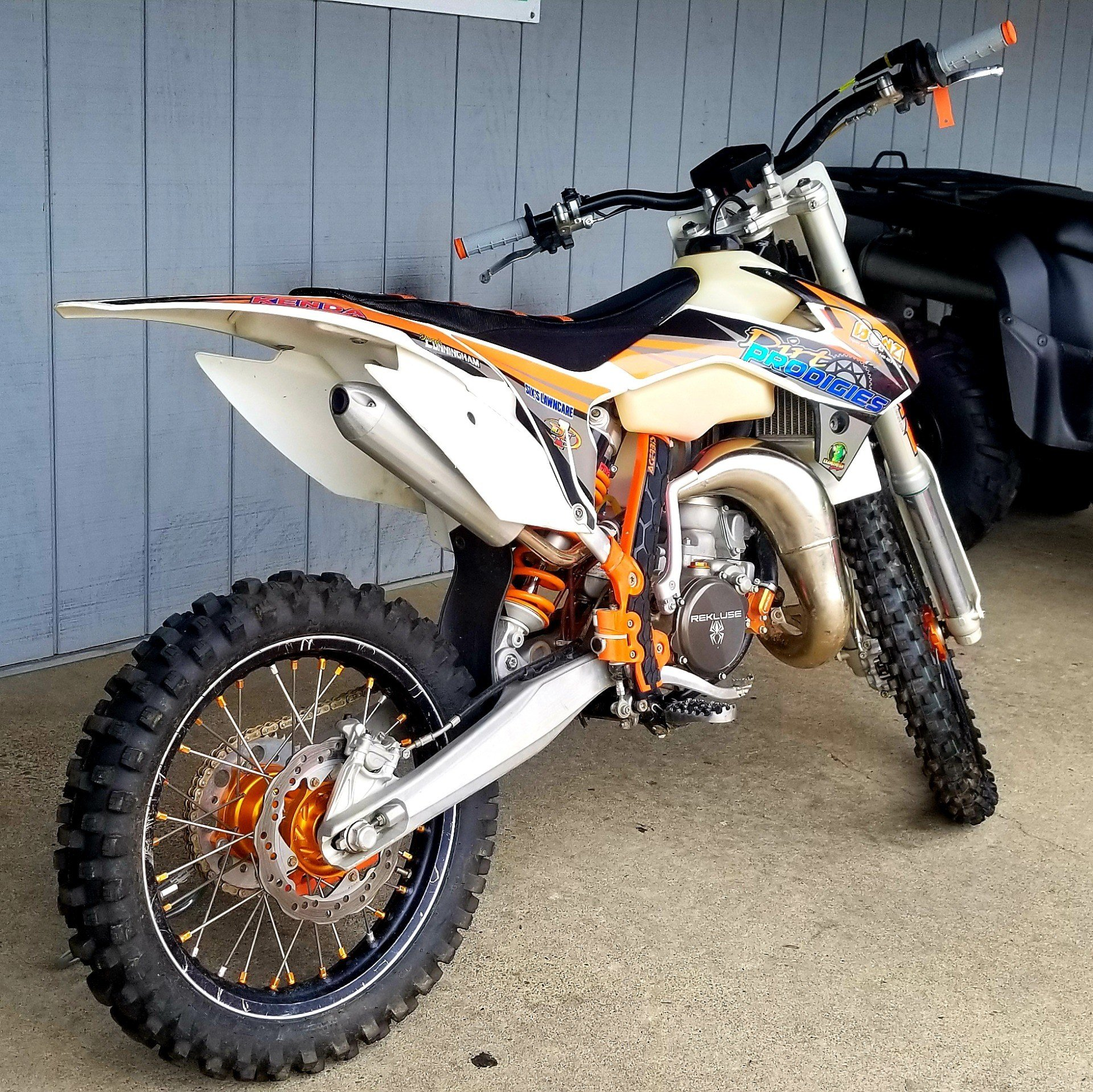2017 KTM 85 SX 17/14 in Athens, Ohio - Photo 3