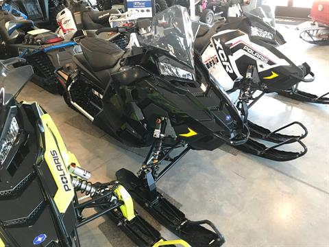 2019 Polaris 600 RUSH XCR Cobra SnowCheck Select in Hancock, Wisconsin