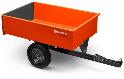 2018 Husqvarna 12 Cu. Ft. Steel Swivel Dump Cart in Hancock, Wisconsin