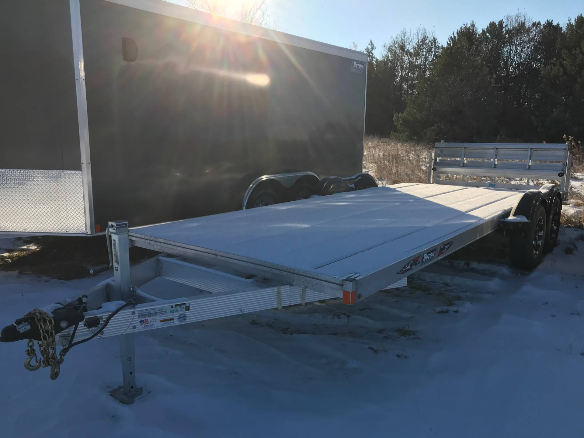 2018 Triton Trailers Car Hauler in Hancock, Wisconsin