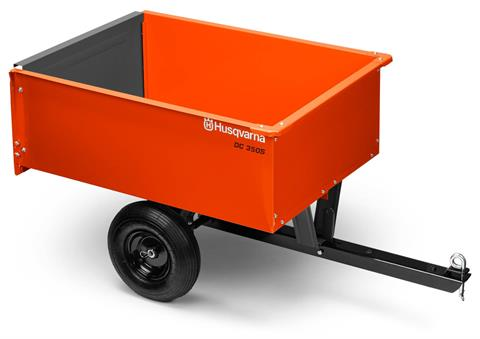 2018 Husqvarna 9 Cu. Ft. Steel Dump Cart in Hancock, Wisconsin