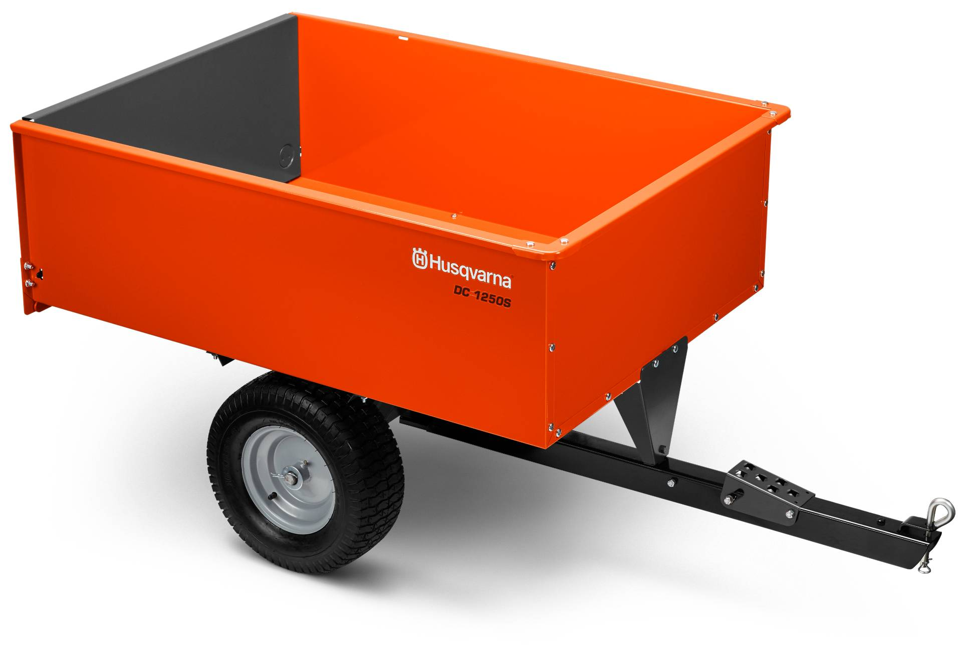 2018 Husqvarna 16 Cu. Ft. Steel Swivel Dump Cart in Hancock, Wisconsin
