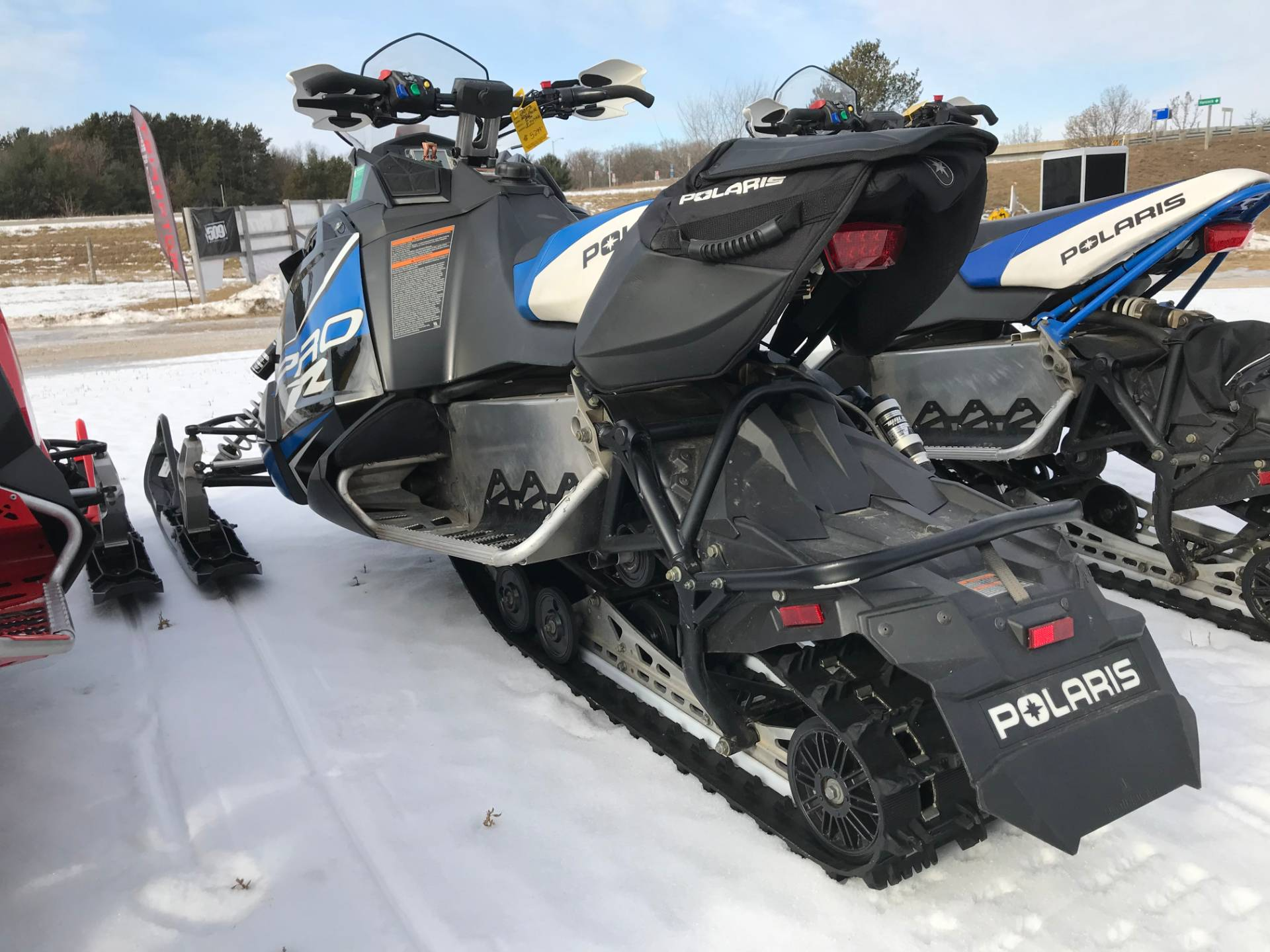 2013 Polaris 600 Rush PRO-R ES in Hancock, Wisconsin - Photo 2