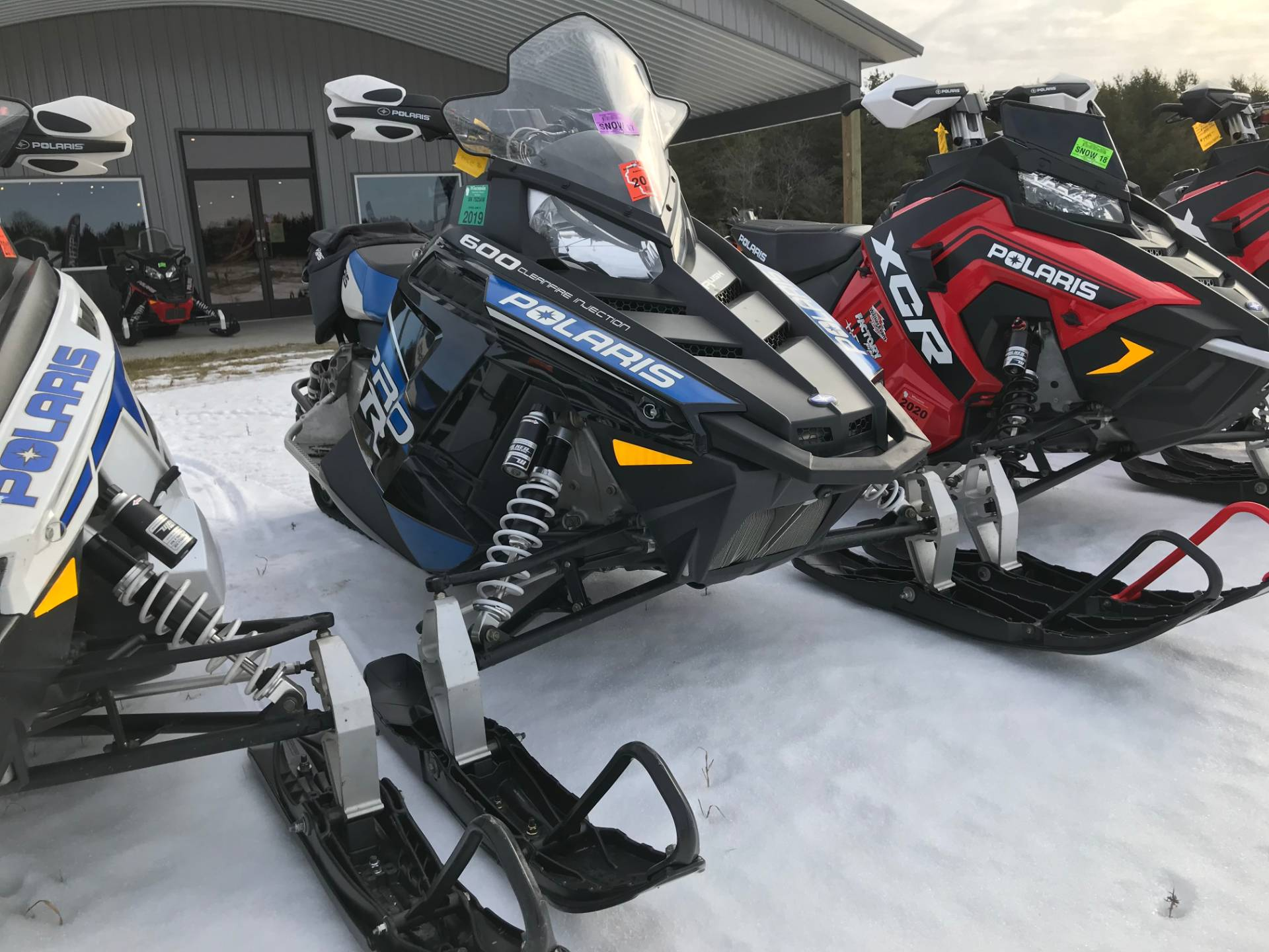 2013 Polaris 600 Rush PRO-R ES in Hancock, Wisconsin