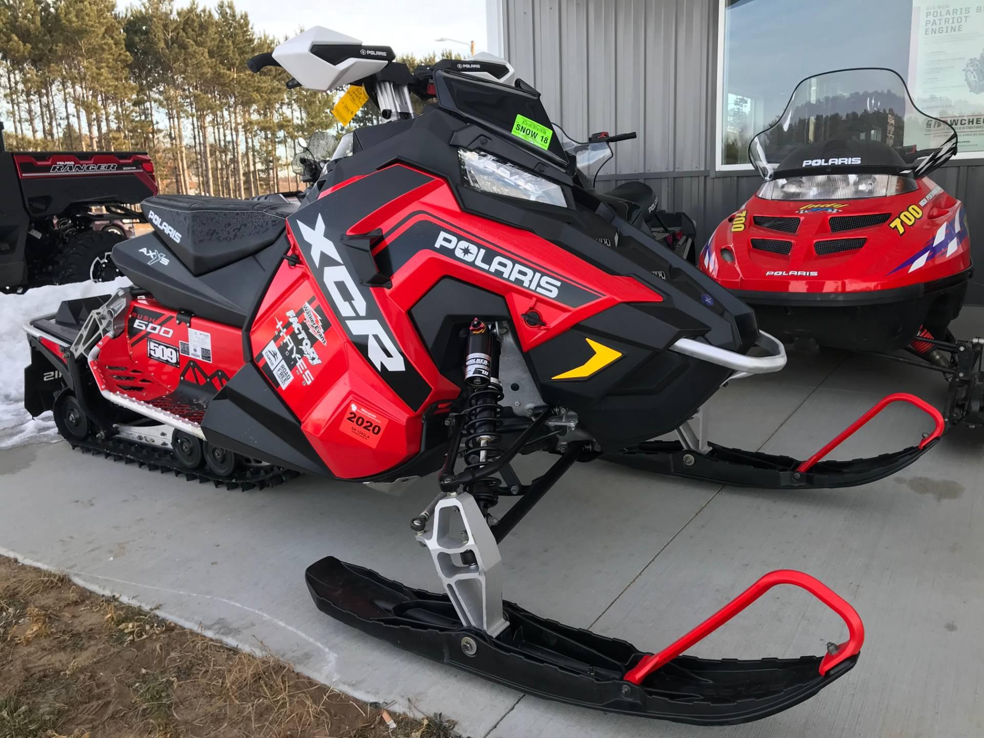 2017 Polaris 600 RUSH XCR in Hancock, Wisconsin