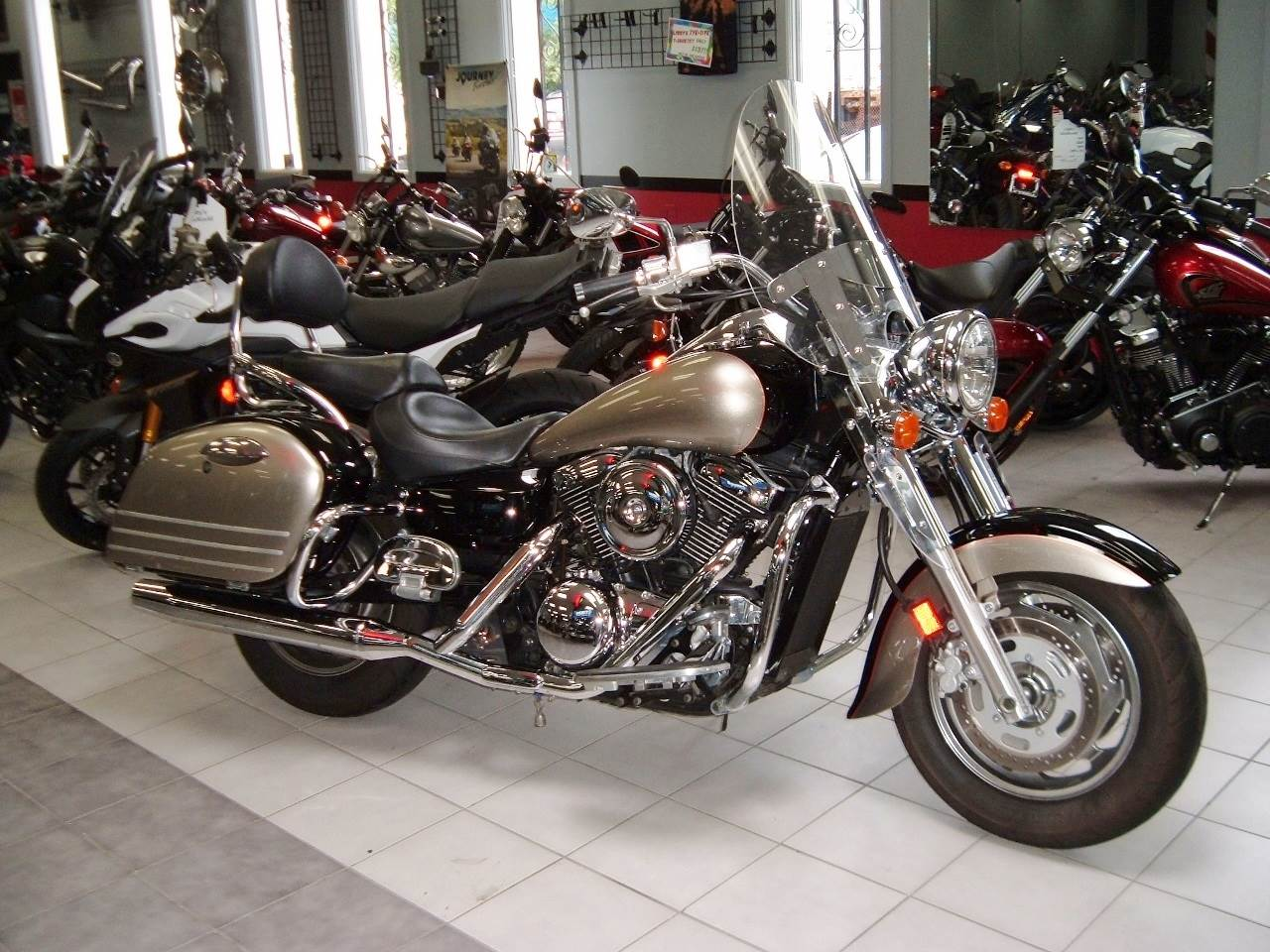 2007 Kawasaki Vulcan® 1600 Nomad™ in New Haven, Connecticut