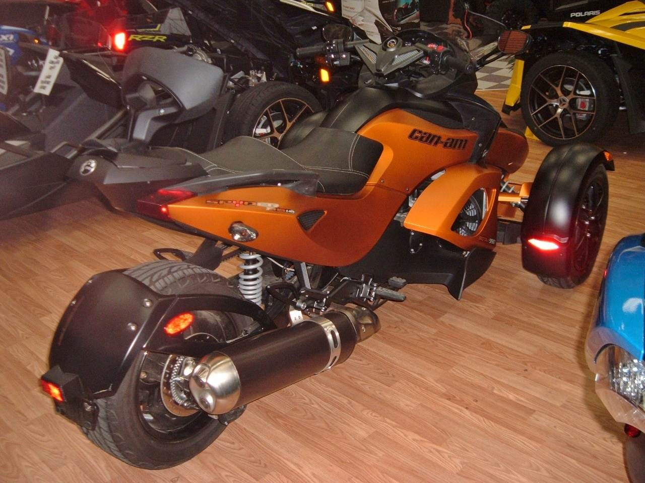 2011 Can-Am Spyder® RS-S SE5 in New Haven, Connecticut