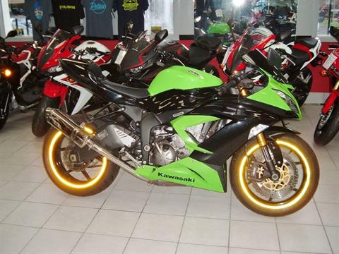 2013 Kawasaki Ninja® ZX™-6R in New Haven, Connecticut