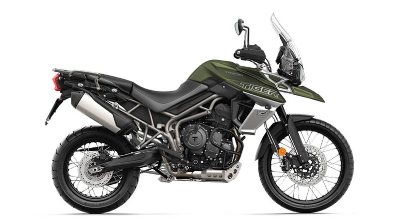 2018 Triumph Tiger 800 XCx in New Haven, Connecticut