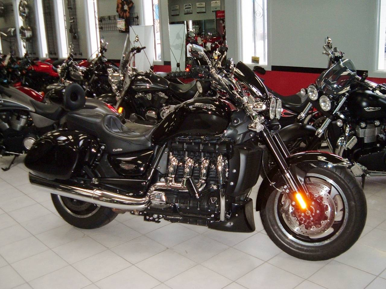 2012 Triumph Rocket III Roadster in New Haven, Connecticut