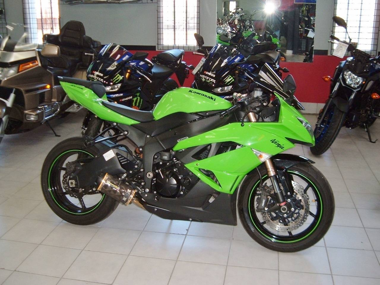 2009 Kawasaki Ninja® ZX™-6R in New Haven, Connecticut
