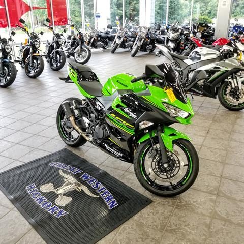 2018 Kawasaki Ninja 400 KRT Edition in Hickory, North Carolina