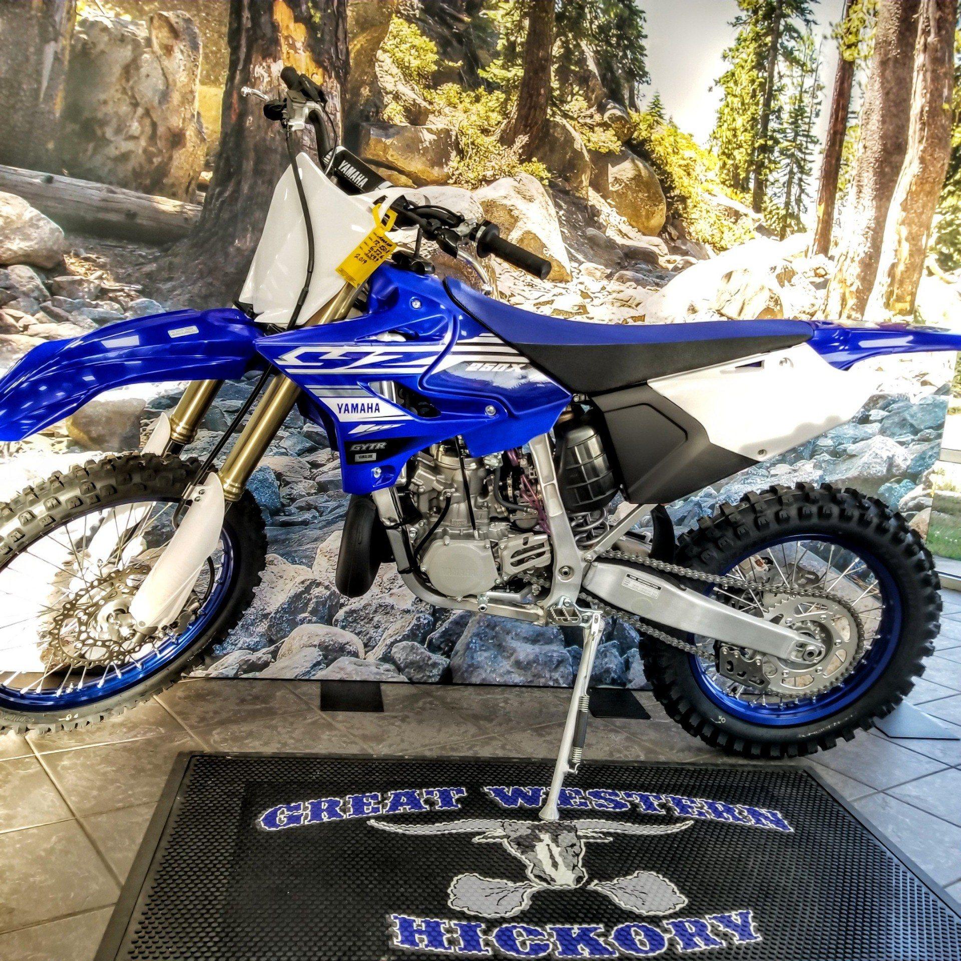 2019 Yamaha YZ250X in Hickory, North Carolina