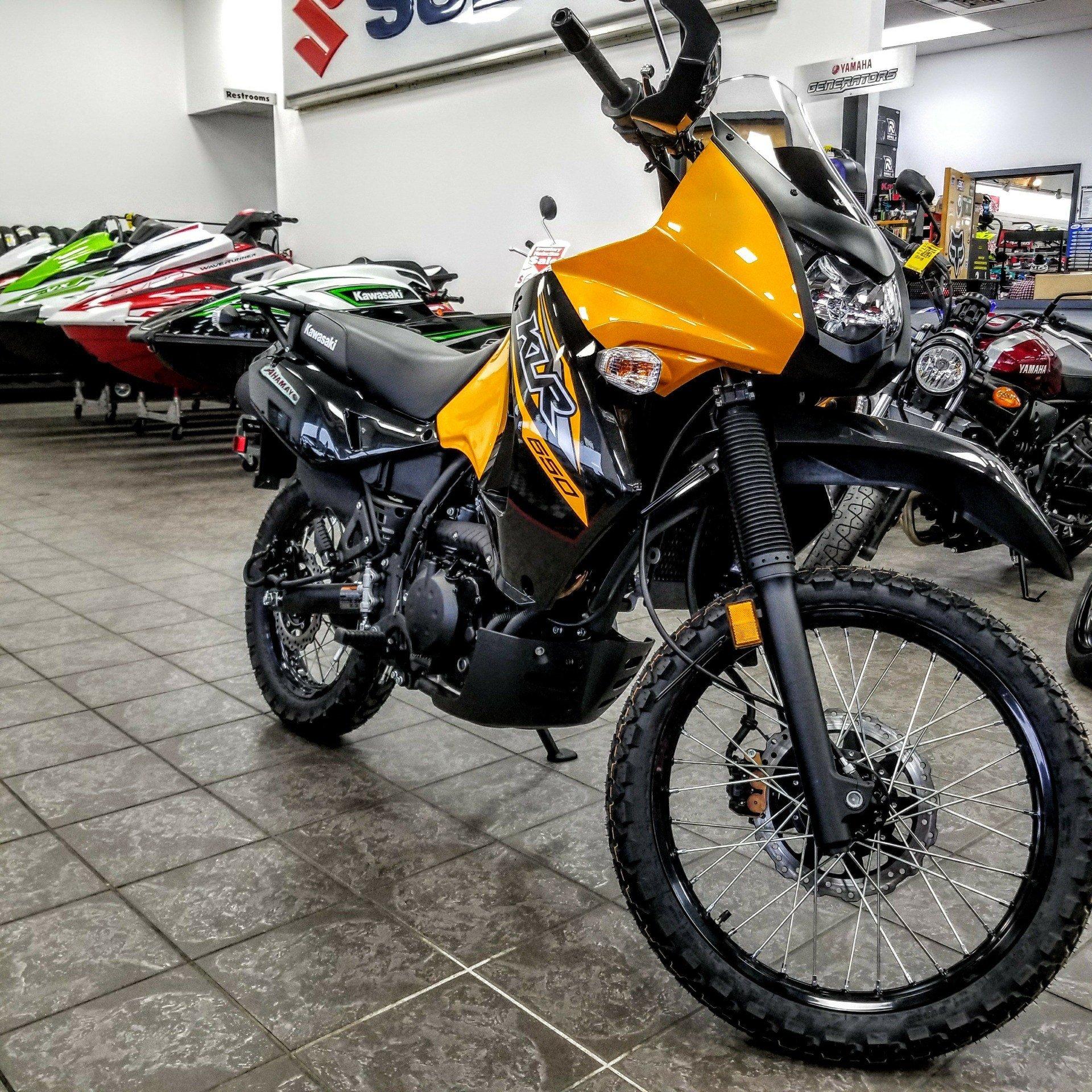 New 2018 Kawasaki KLR650 Motorcycles in Hickory, NC | Stock Number ...