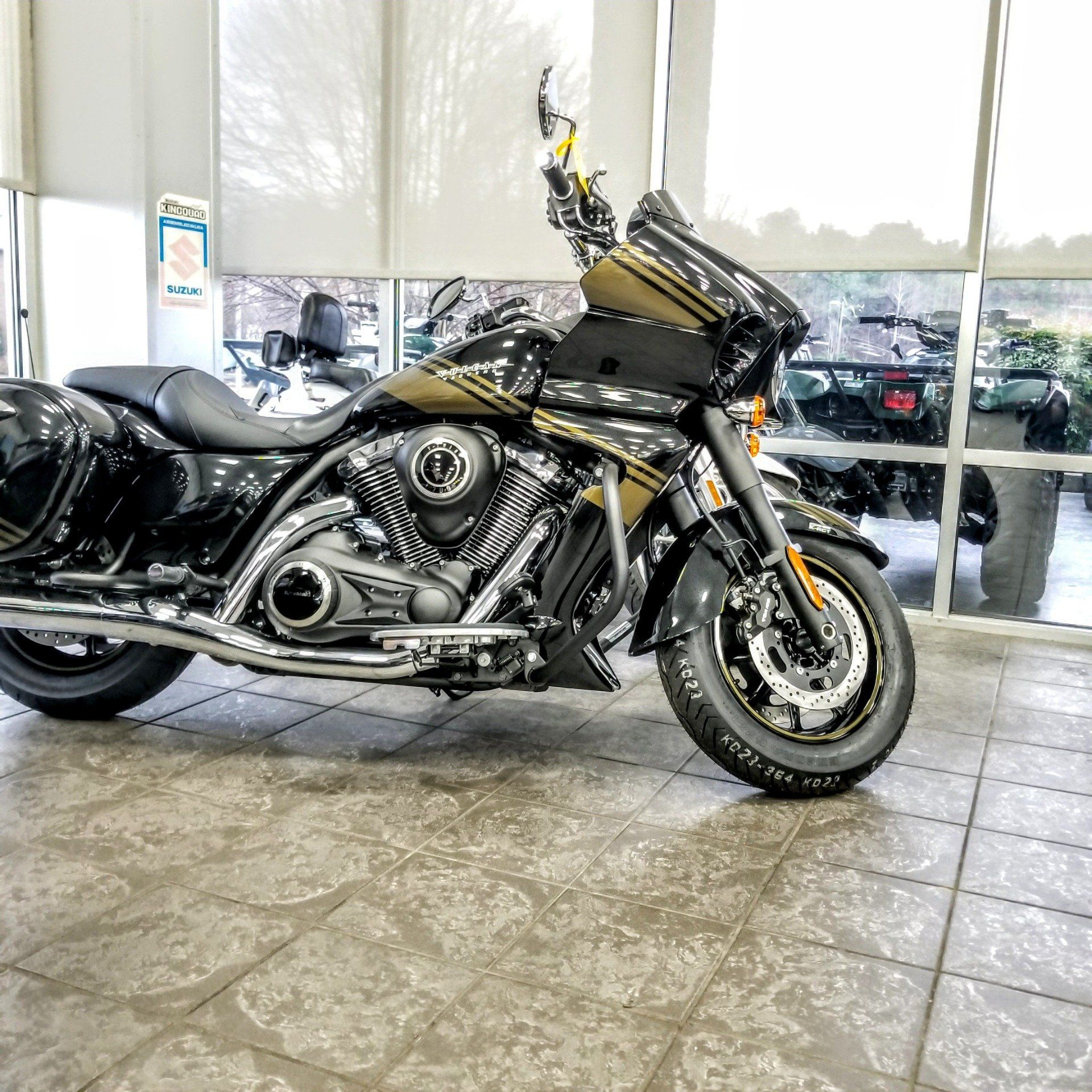 2019 Kawasaki Vulcan 1700 Vaquero ABS in Hickory, North Carolina - Photo 3