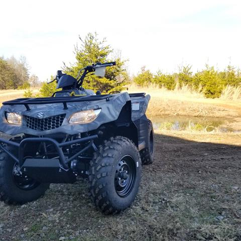 2018 Suzuki KingQuad 400ASi in Hickory, North Carolina