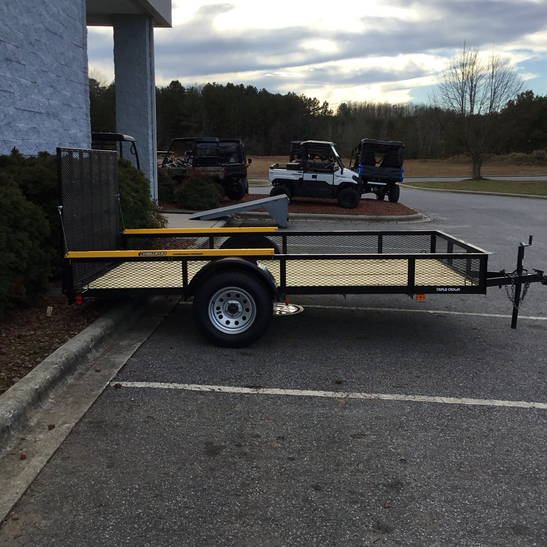 2020 TRIPLE CROWN 6.6 X 12 UTILITY TRAILER in Hickory, North Carolina - Photo 1