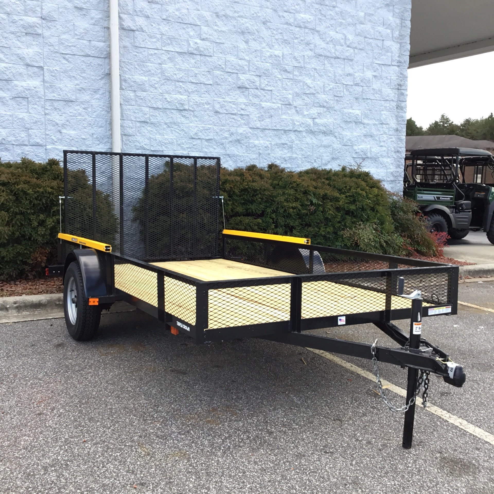 2020 TRIPLE CROWN 6.6 X 12 UTILITY TRAILER in Hickory, North Carolina - Photo 4