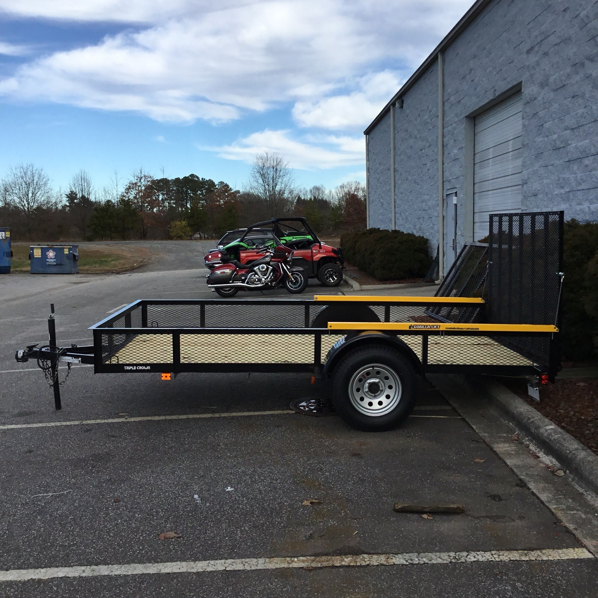 2020 TRIPLE CROWN 6.6 X 12 UTILITY TRAILER in Hickory, North Carolina - Photo 8