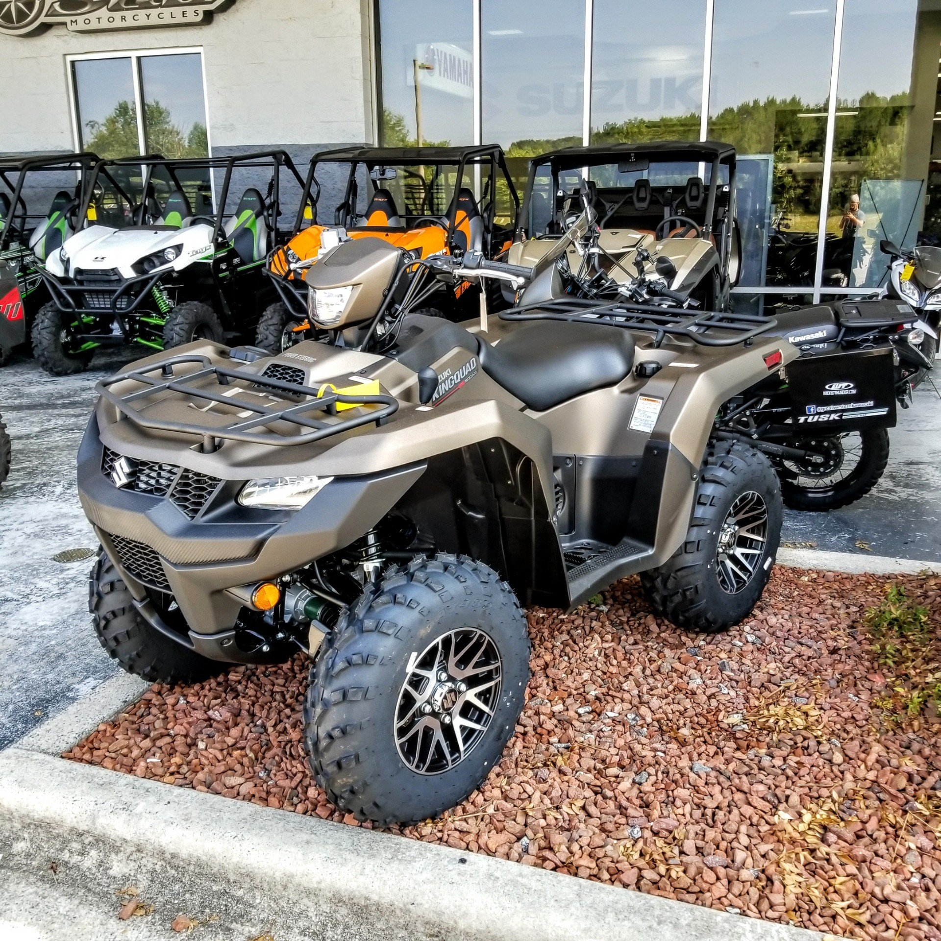 2019 Suzuki KingQuad 500AXi Power Steering SE+ in Hickory, North Carolina - Photo 1