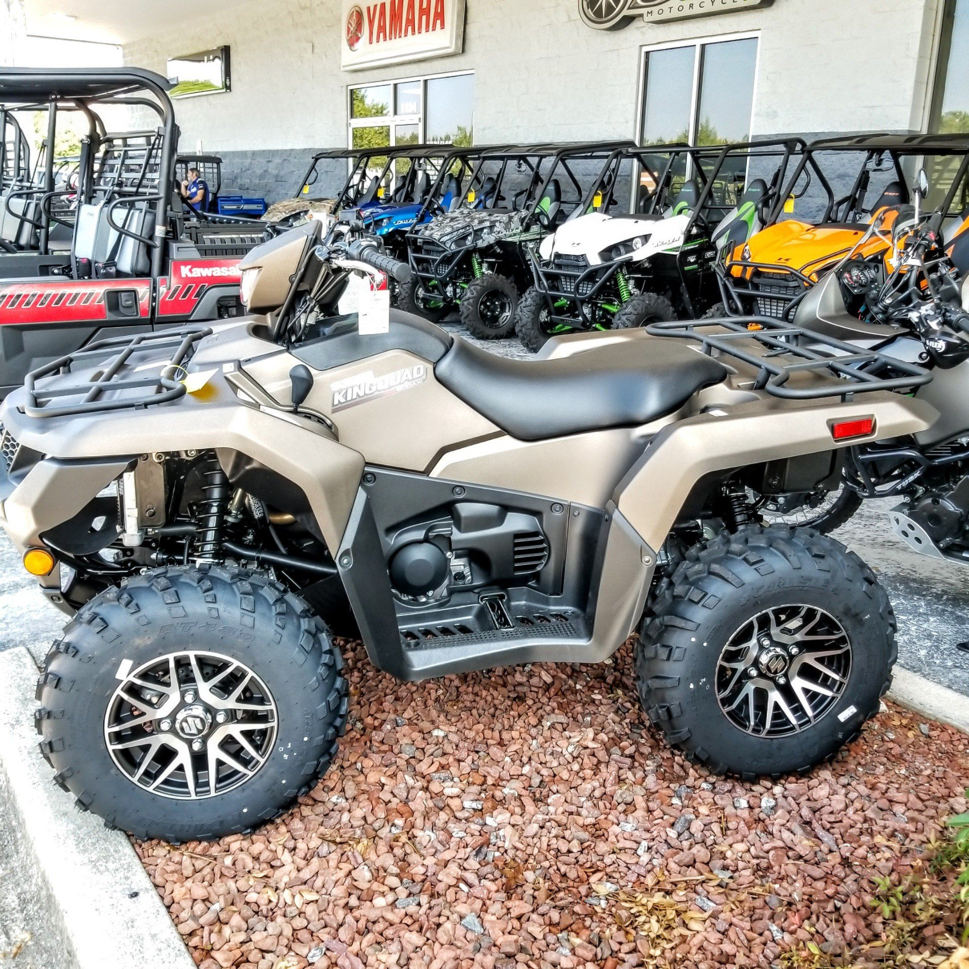 2019 Suzuki KingQuad 500AXi Power Steering SE+ in Hickory, North Carolina - Photo 3