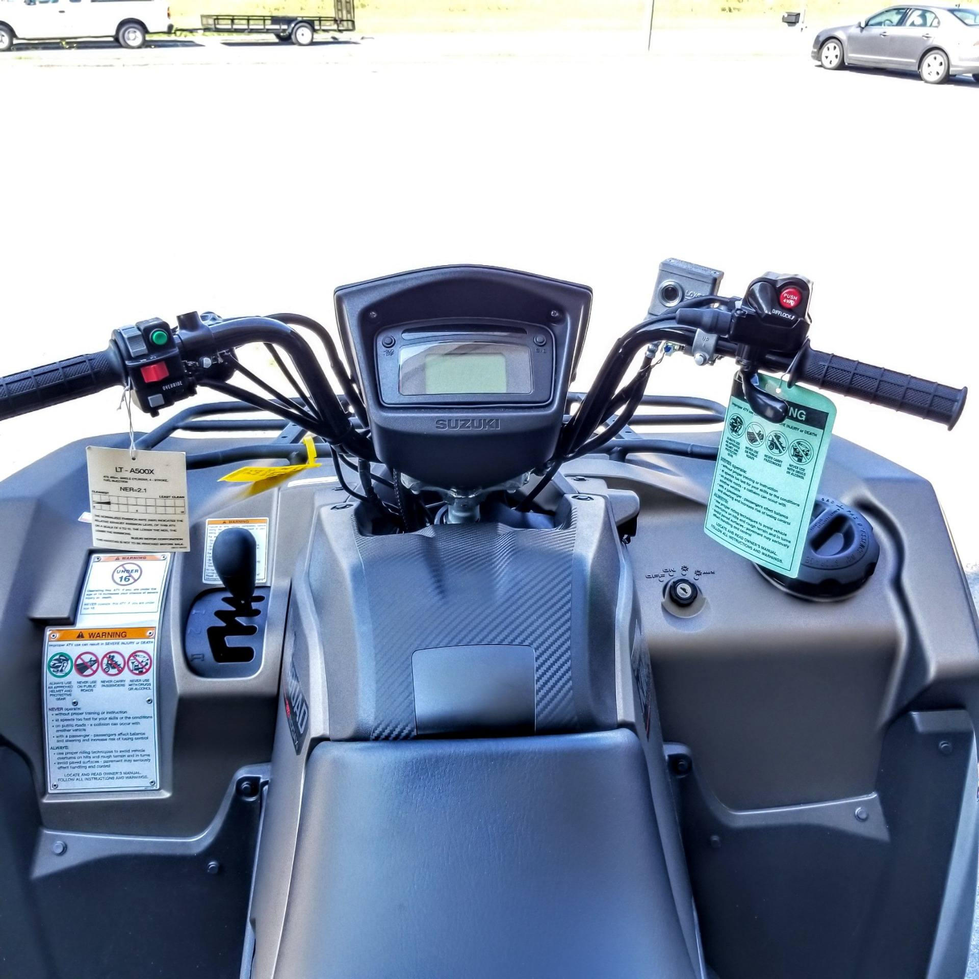 2019 Suzuki KingQuad 500AXi Power Steering SE+ in Hickory, North Carolina - Photo 8