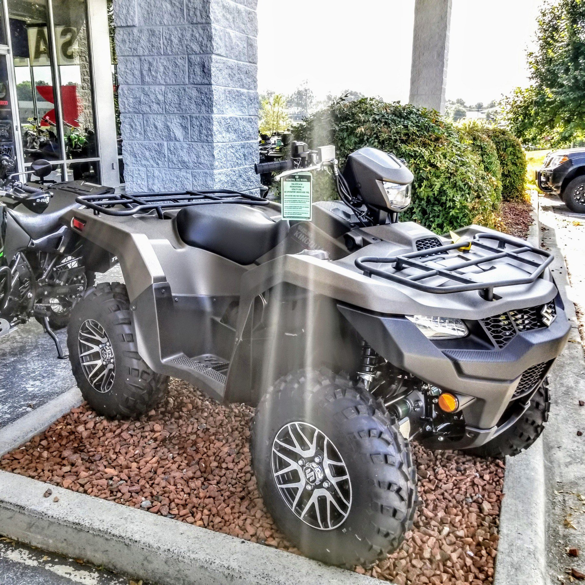2019 Suzuki KingQuad 500AXi Power Steering SE+ in Hickory, North Carolina - Photo 5