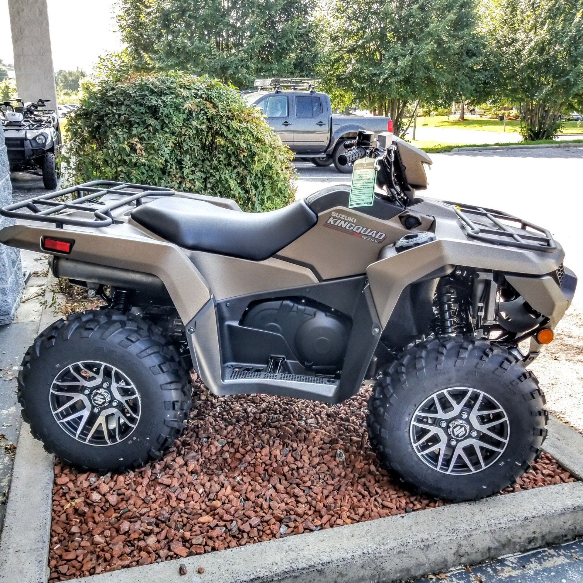 2019 Suzuki KingQuad 500AXi Power Steering SE+ in Hickory, North Carolina - Photo 6