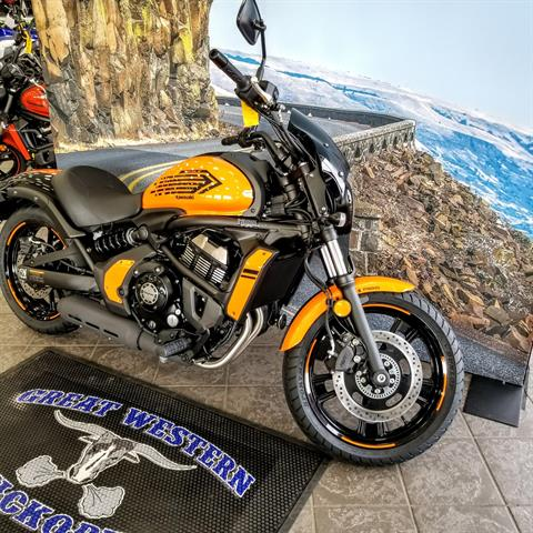 2019 Kawasaki Vulcan S ABS Café in Hickory, North Carolina