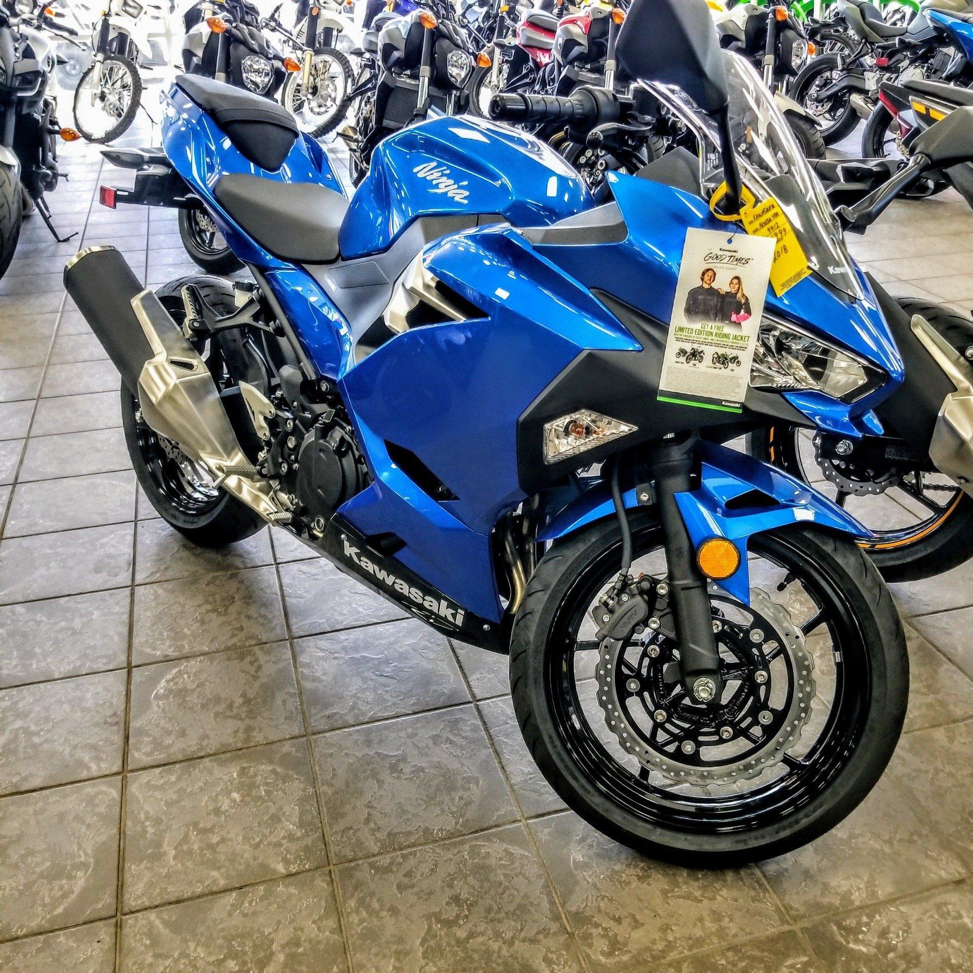 New 2018 Kawasaki Ninja 400 Motorcycles In Hickory Nc Stock