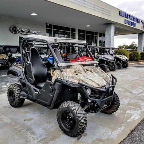 2017 Yamaha Wolverine EPS in Hickory, North Carolina