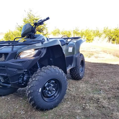 2018 Suzuki KingQuad 750AXi in Hickory, North Carolina